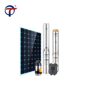 Pompa ad acqua autoalimentata solare sommergibile d'Ostruzione di CA di CC dei bacini idrici buoni agricoli del giardino