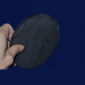 Controsoffitti di ceramica dello strato dell'allumina resistente all'uso Al2O3 di colore del nero di figura di ellisse