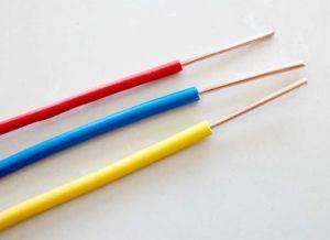 Cavo elettrico del conduttore isolato PVC dei collegare di rame del collegare del collegare di memoria del cavo elettrico della costruzione singolo