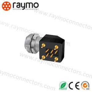 中国の製造者の高品質のコネクターを受けとっている互換性のあるLemos Epg 2b 14 Pinの金属の円のプッシュプル自己