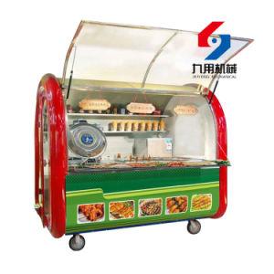 Edelstahl-Fluss-System-elektrische Nahrungsmittelkarren mit Rädern