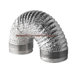 Flexible de aluminio de tubo de aire (2~20).