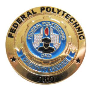 Fabrik-Großverkauf-Kleid-Zubehör-Nickel überzogener kundenspezifischer Lord Bürgermeister Appeal Metal Badge (079)