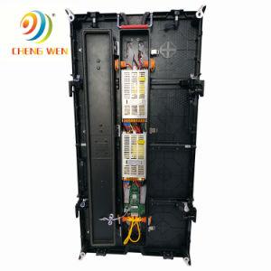 500*1000mm P4.81 Affichage LED à l'extérieur de l'écran Affichage de location du Cabinet incurvée