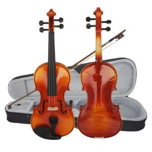 Sinomusik музыкальный инструмент Gloss оранжевого цвета твердых скрипки