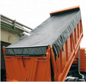 Wasserdichtes Sun beständiges Kurbelgehäuse-Belüftung beschichtete Plane-Gewebe für LKW-Deckel