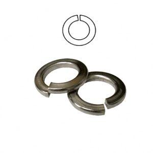 Commerce de gros personnalisé de haute qualité 65mn en acier inoxydable plaqué zinc rondelle à ressort