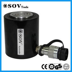 重い持ち上がることのためのSOV Rcs 101の良質の単動薄い油圧ジャック