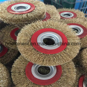 Banheira de venda mais poderoso promocionais Fio Crimpado escova roda circular