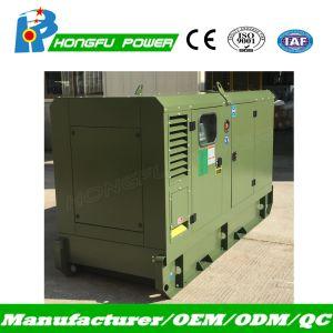 Leises Dieselgenerator-Set mit Lovol Motor Powerd durch 125kVA