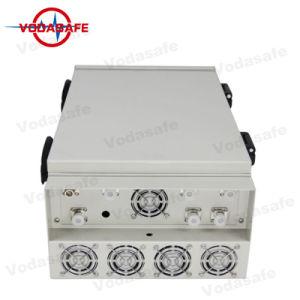 Anti -Tracker Jammer, 6 antena Celular Bloqueador de interferência de sinal, bloquear todas as redes sem fio, Bloqueador de 6 bandas para AMPS, N-AMPS, Nmt, Tacstelephones