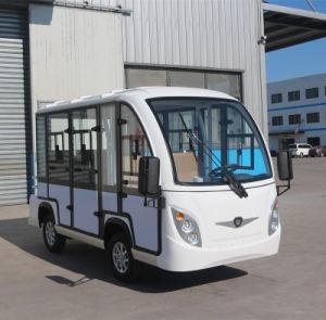 72V 8 passageiros dos veículos de turismo Gd-A8f+AUTOCARRO eléctrico