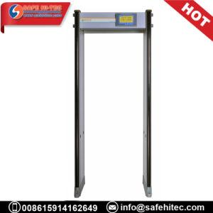 Prueba de intemperie IP55 de peso ligero de plástico detector de metales del marco de puerta SA300E