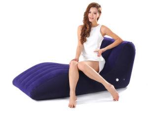 Solo Sofá Sofá Sofá inflable heces Lazy tumbona de jardín