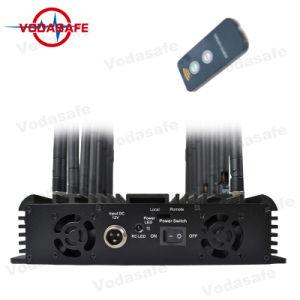 47Вт 18 антенна UHF VHF сигнала перепускной, регулируемые 3G Wimax 4G телефона Jammer valve GPS VHF UHF Bluetooth сигнал блокировки всплывающих окон