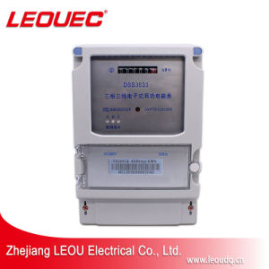 Dss Трехфазный электронный счетчик энергии/ эксплуатацию электронного ваттметра