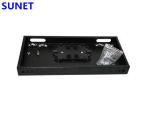 1U 19 SC/FC/St/LC фиксированных оптоволоконных патч-панели установите флажок прекращения
