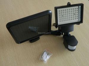 60PCSはIP65屋外PIRセンサーの太陽センサーライトランプを防水する
