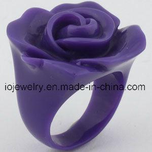 Nam de Bijkomende Kleurrijke Hars van juwelen Ringen voor Vrouwen toe
