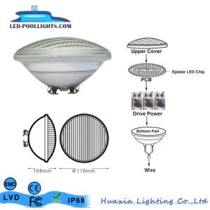 ガラスIP68 35W RGB PAR56 LEDのプールライト8With12With18With24W