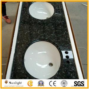 Fertiggranit-/Marmor-/Quarz-Badezimmer-Eitelkeits-Oberseiten mit Wanne kundenspezifisch anfertigen