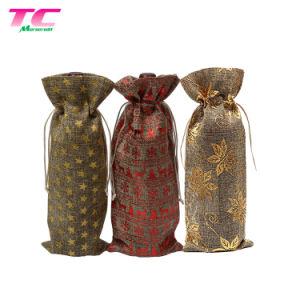 Pochette rouge Sac en tissu réutilisables Bijoux Bijoux de ligne de l'emballage promotionnel sac pochette