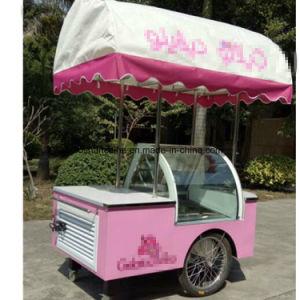 باناما عصا و [إيس كرم] عربة لأنّ عمليّة بيع