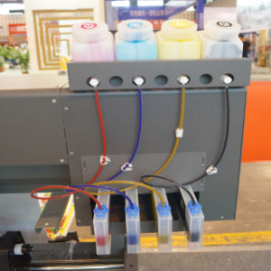 Epson Dx7の印字ヘッドが付いているインクジェットデジタル屋外および屋内Eco支払能力があるプリンター