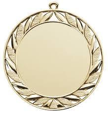 印刷されるを用いる亜鉛合金メダル