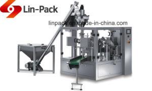 El café Poeder Doypack llenado rotativa automática Máquina de embalaje