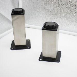 Matériel de montage des meubles de vente directe de jambes en acier inoxydable