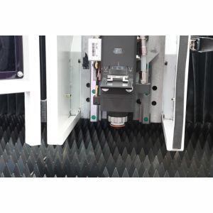 LC4020b CNC de Laser van de Vezel van het Blad van het Metaal