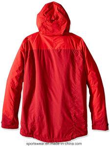 人の冬の防水防風の高い機能暖かい屋外のコートのスキージャケット