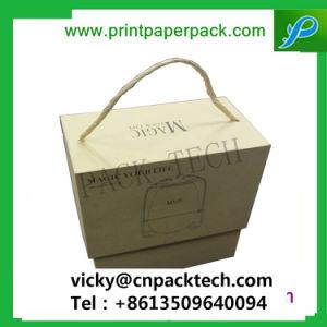 L'artisanat de luxe sur mesure chapeau rond boîte papier rigide, bijoux en carton Emballage de cadeau encadré, tube de l'emballage des boîtes pour le thé / café / Vin rouge / / les bonbons de chocolat de fleurs