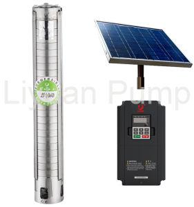La pompe à eau solaire sans balai, pompe centrifuge de 4'' avec S. S. le rotor