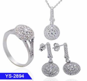 Bijoux en alliage de cuivre Cheap Fashion Zirconia Cubique Earring fixe