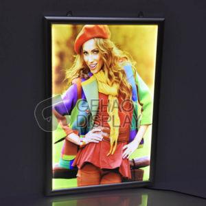 Custom cartel retroiluminado pantalla LED de aluminio SNAP Frame