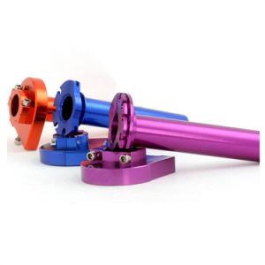 Tubo di alluminio della valvola a farfalla di CNC dei motorini della bici della sporcizia di Motorcross