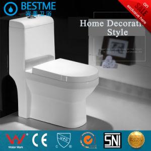 Горячая продажа керамических туалет с туалетом крышку на Ближнем Востоке Рынка (BC-1025A)