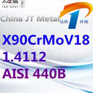 X90crmov18 1.4112 440b de Staaf van de Pijp van de Plaat van het Roestvrij staal AISI, de Leverancier van China