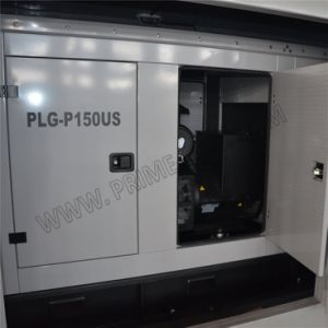 150kVA Perkins가 강화하는 높게 주문을 받아서 만들어진 닫집 유형 매우 침묵하는 디젤 엔진 발전기