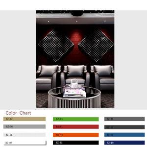 Lärmkontrolle-Dekor. Faser-akustische Panels des Polyester-3D für KTV