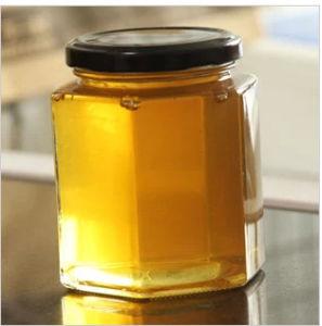 Spitzenglasglas für Honig, Stau, Nahrung, legen Glasflaschen in Essig ein
