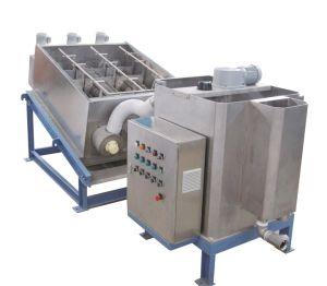 20000mg/L, type à vis de la pile de déshydratation des boues de la machine de traitement des eaux de la machine