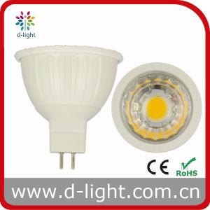 2700k MR16 3W Plastic Lens 12V Gu5.3 LED Bulb