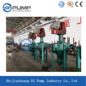 Vertikale Mineralaufbereitenschwimmaufbereitung-Bereichs-Schaum-Hochleistungspumpe