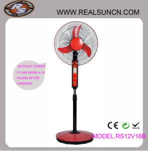 WS-Gleichstrom Double Duty Rechargeable Fan 16inch mit USB Output (RS12V16B)