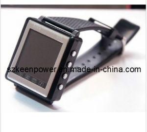 Il telefono mobile MP4 della vigilanza sottile di GSM Triband guarda il giocatore