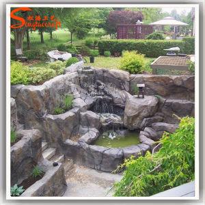 Nouveau design Jardin Rockery artificielle de résine de Pierre Fontaine à  eau