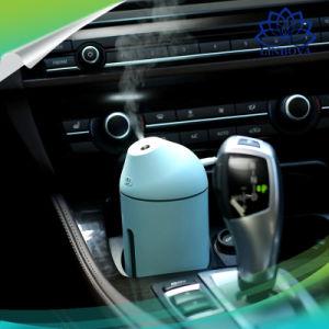小型空気清浄器の空気加湿器のオフィスのホーム車のための人間工学的の噴霧角度の加湿器を満たすUSB
